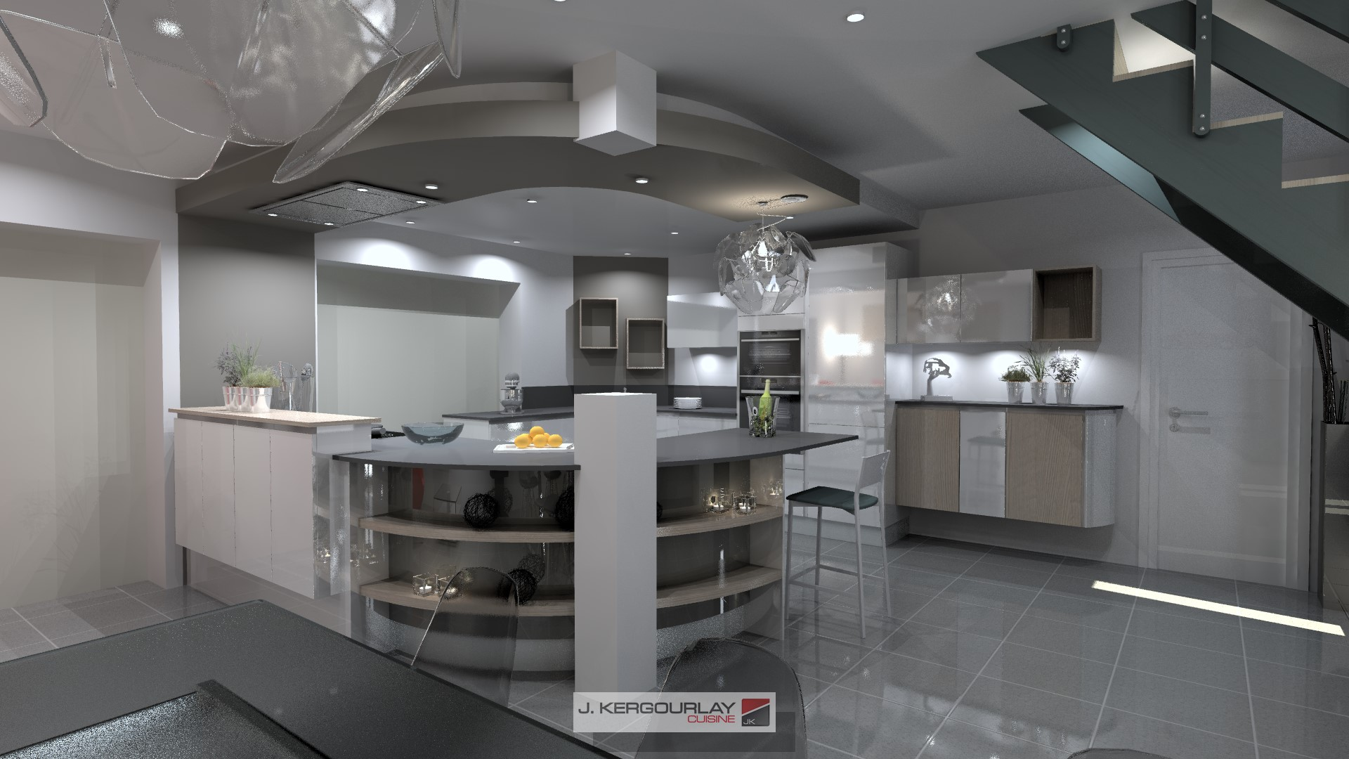 j kergourlay cuisines bains dressing fermetures rosporden. Black Bedroom Furniture Sets. Home Design Ideas