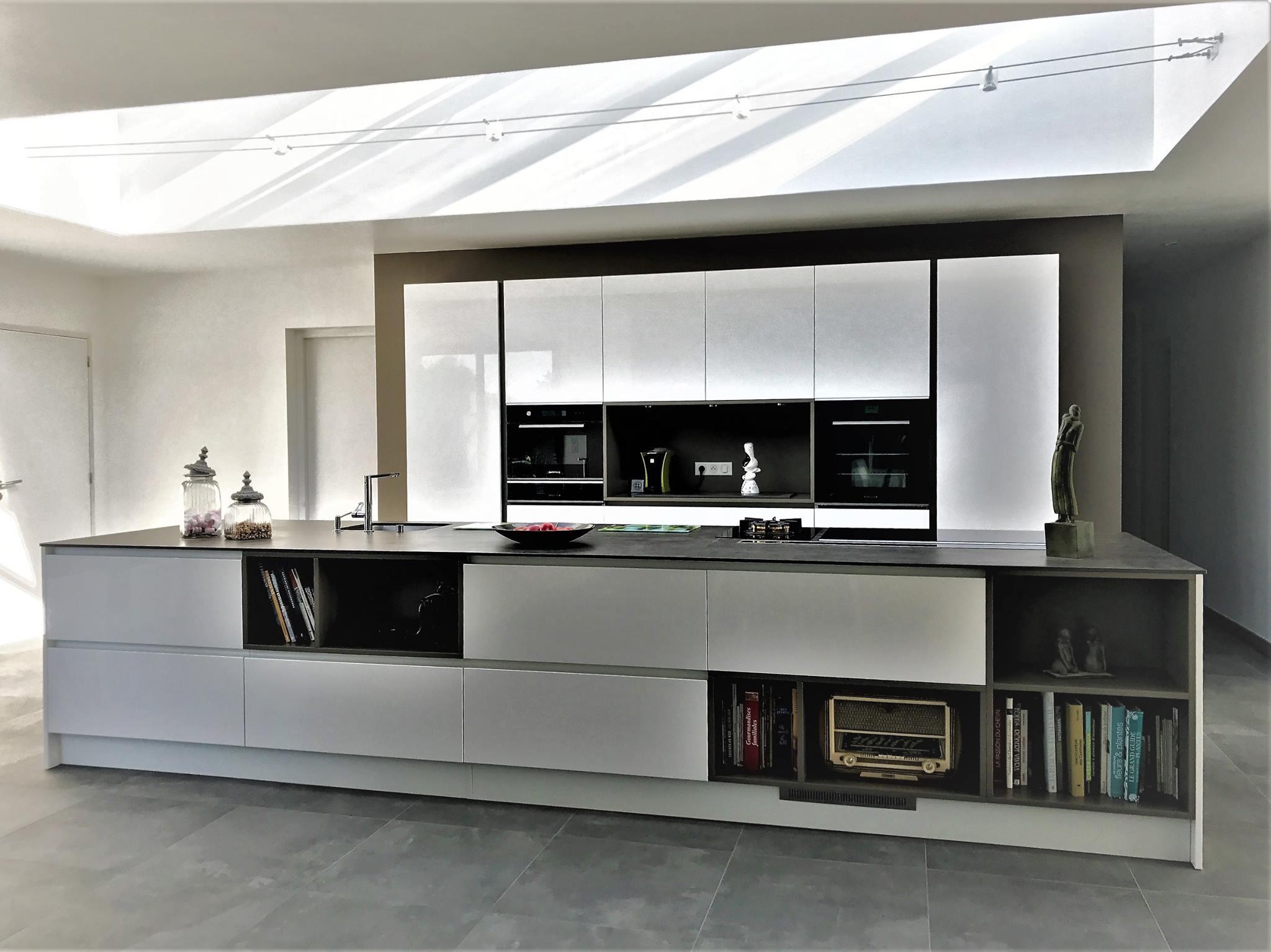 cuisine armony concarneau cuisines kergourlay. Black Bedroom Furniture Sets. Home Design Ideas