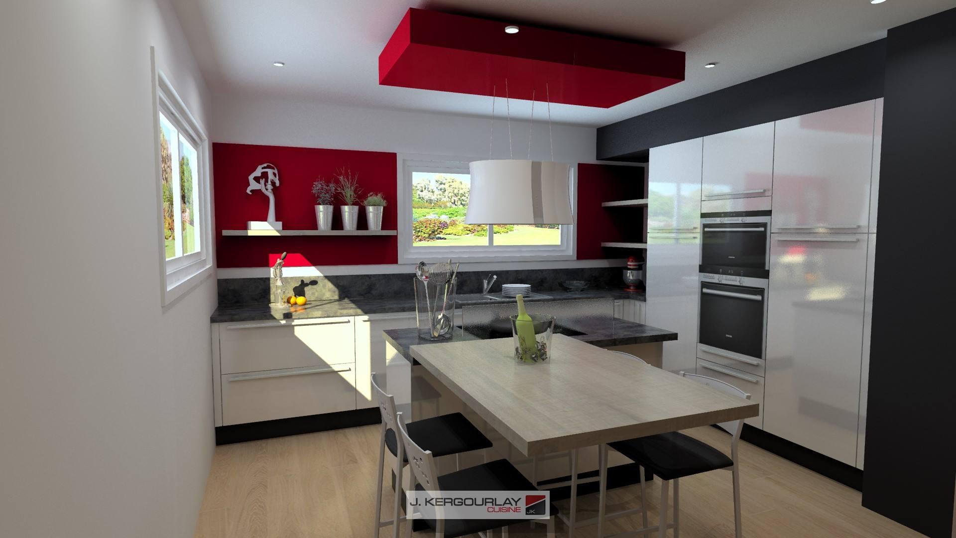 cuisine armony pleuven cuisines kergourlay. Black Bedroom Furniture Sets. Home Design Ideas