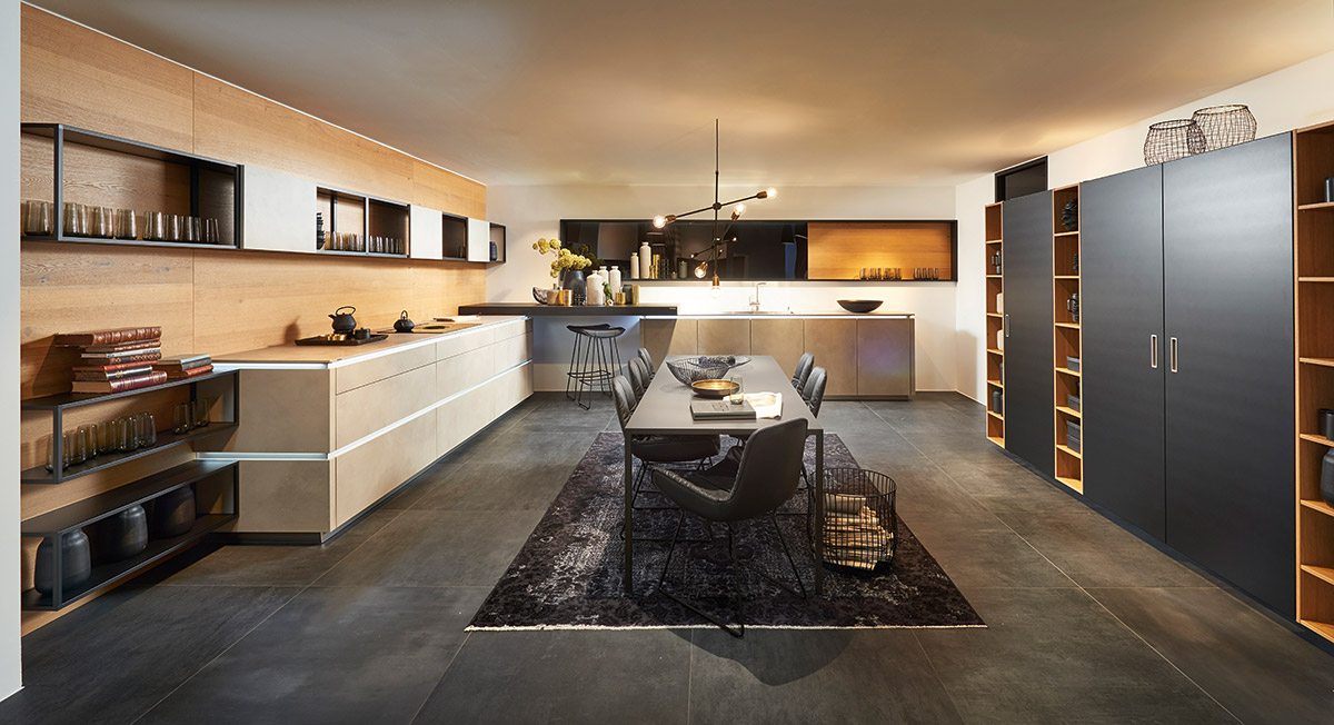 nolte cuisines kergourlay. Black Bedroom Furniture Sets. Home Design Ideas